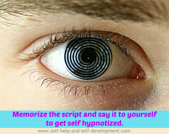 Image for self hypnosis script.